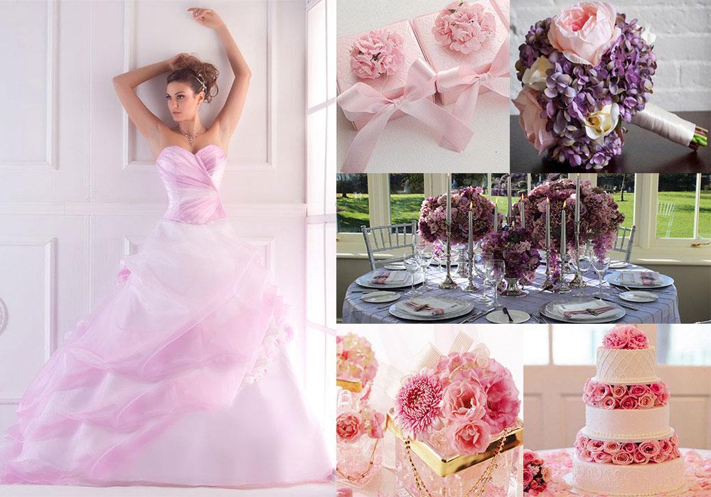 cheaper 401cc a1eac Matrimonio a tema colore, dal Vestito da Sposa ai confetti ...