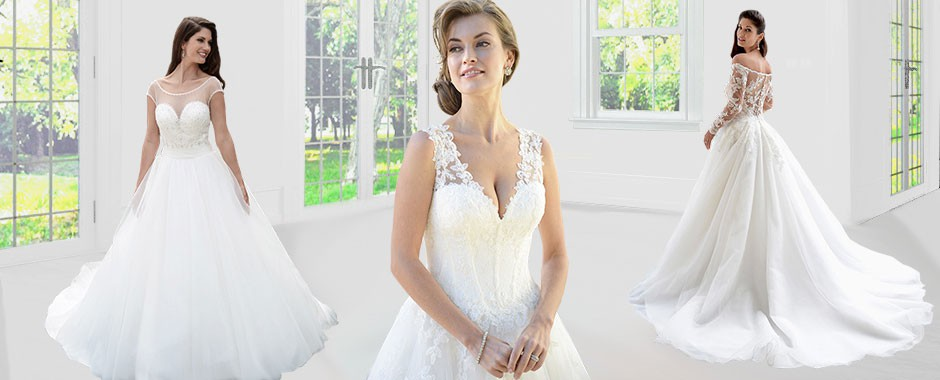 Noleggio abiti da sposa alta moda