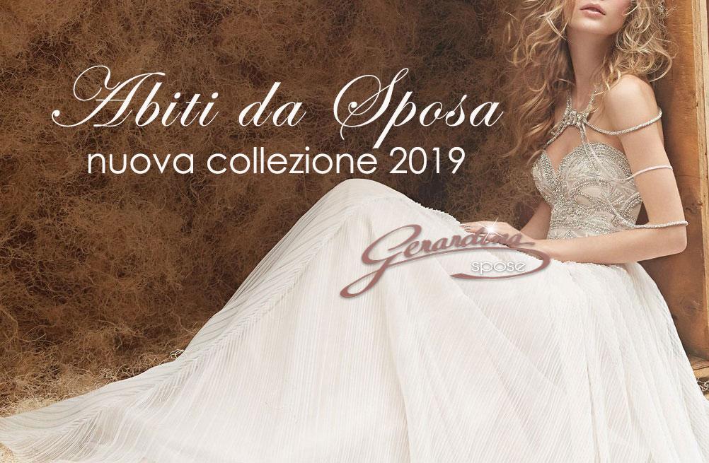 83083abb7fd9 Abiti da Sposa... l incantevole Nuova Collezione 2019 di Gerardina ...