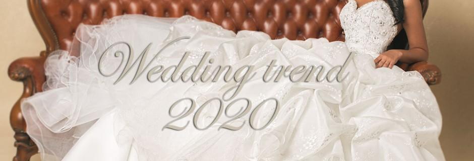 Tendenze Matrimonio 2020… dagli Abiti da Sposa al ricevimento di Nozze!